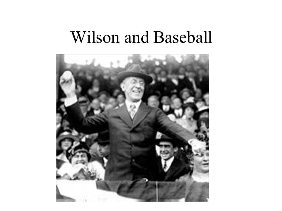 Wilson and Baseball