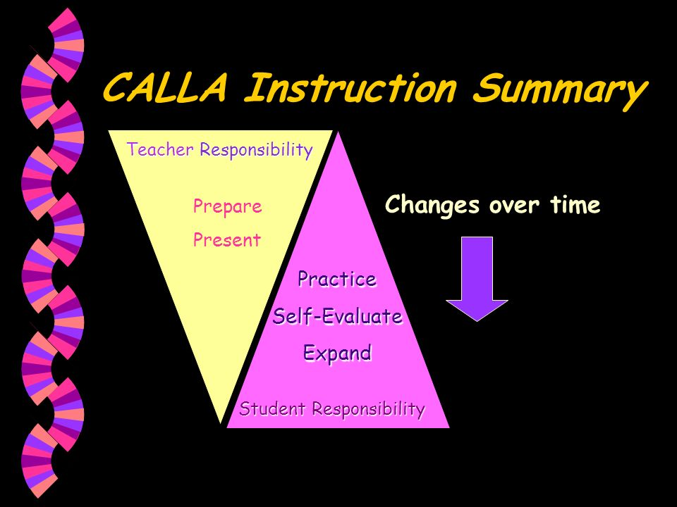 CALLA Instruction Summary
