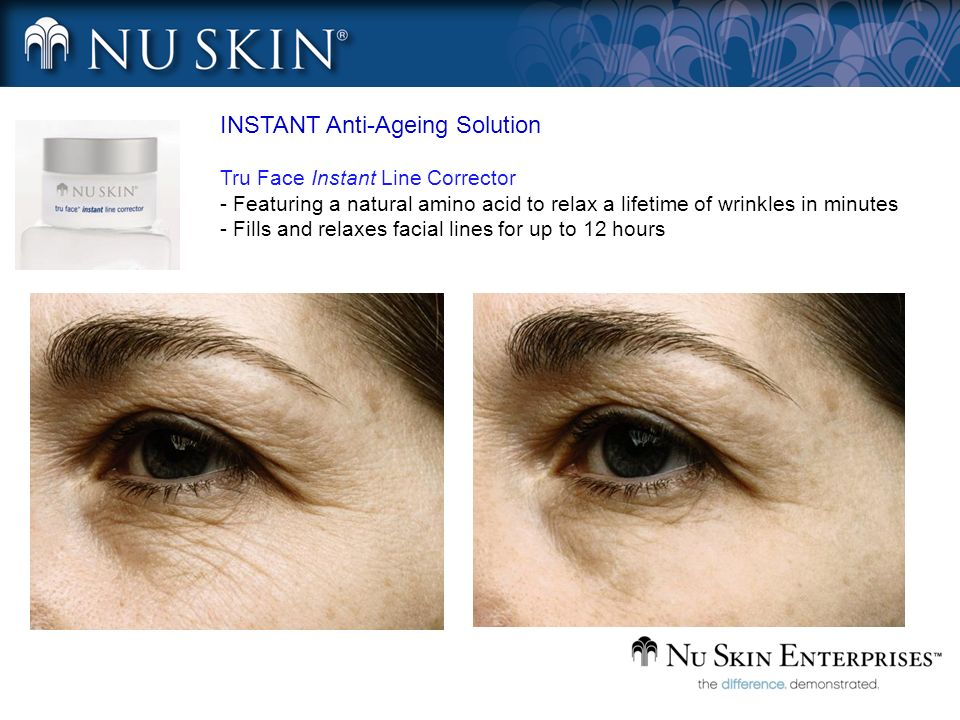 INSTANT Anti-Ageing Solution