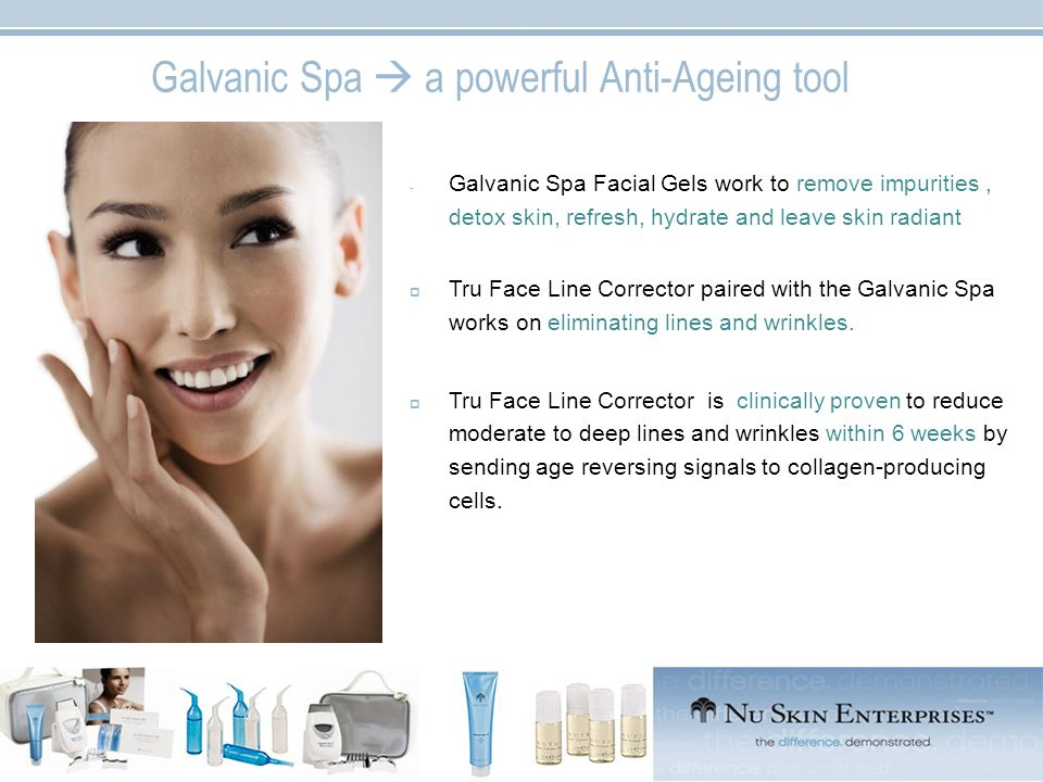 Galvanic Spa  a powerful Anti-Ageing tool