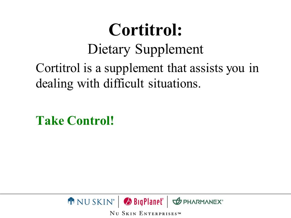 Cortitrol: Dietary Supplement