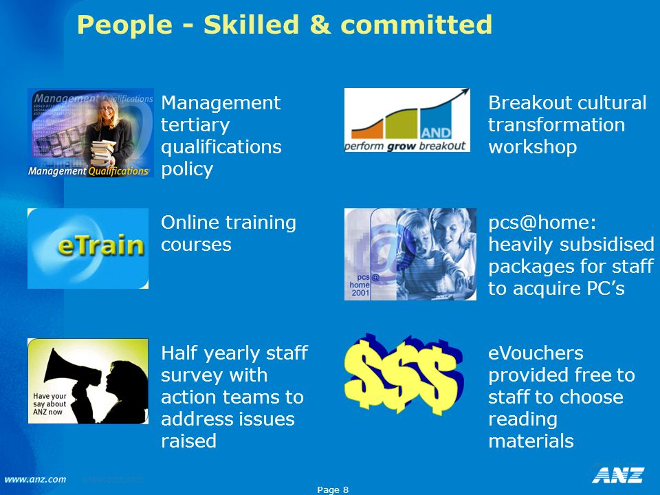 People - Skilled & committed