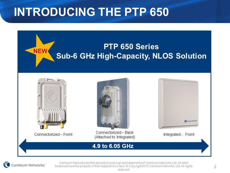 Sub-6 GHz High-Capacity, NLOS Solution