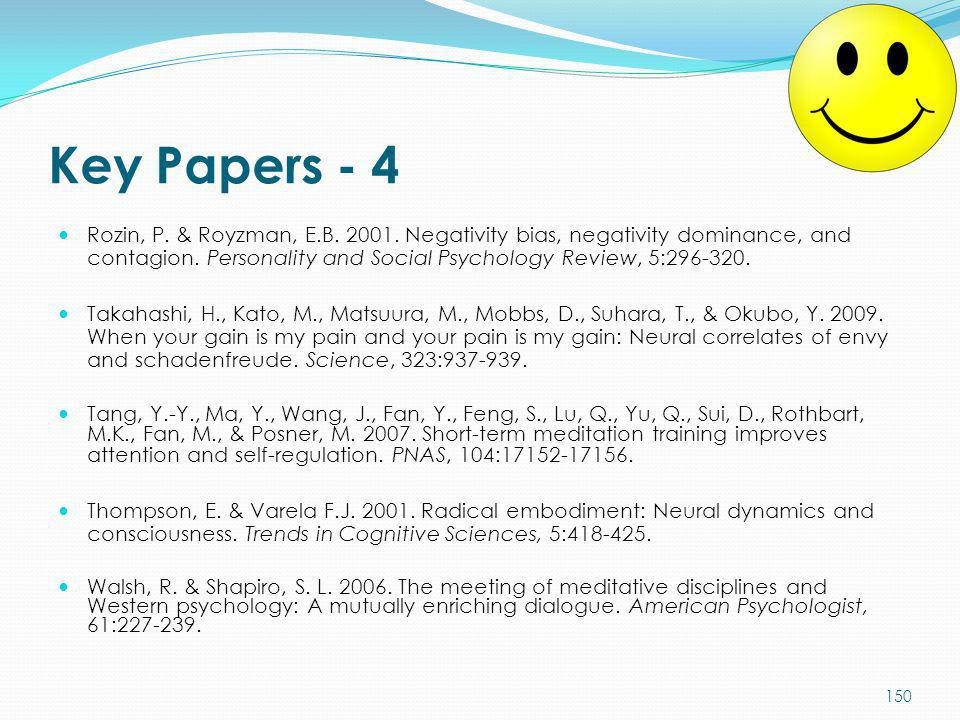 Key Papers - 4