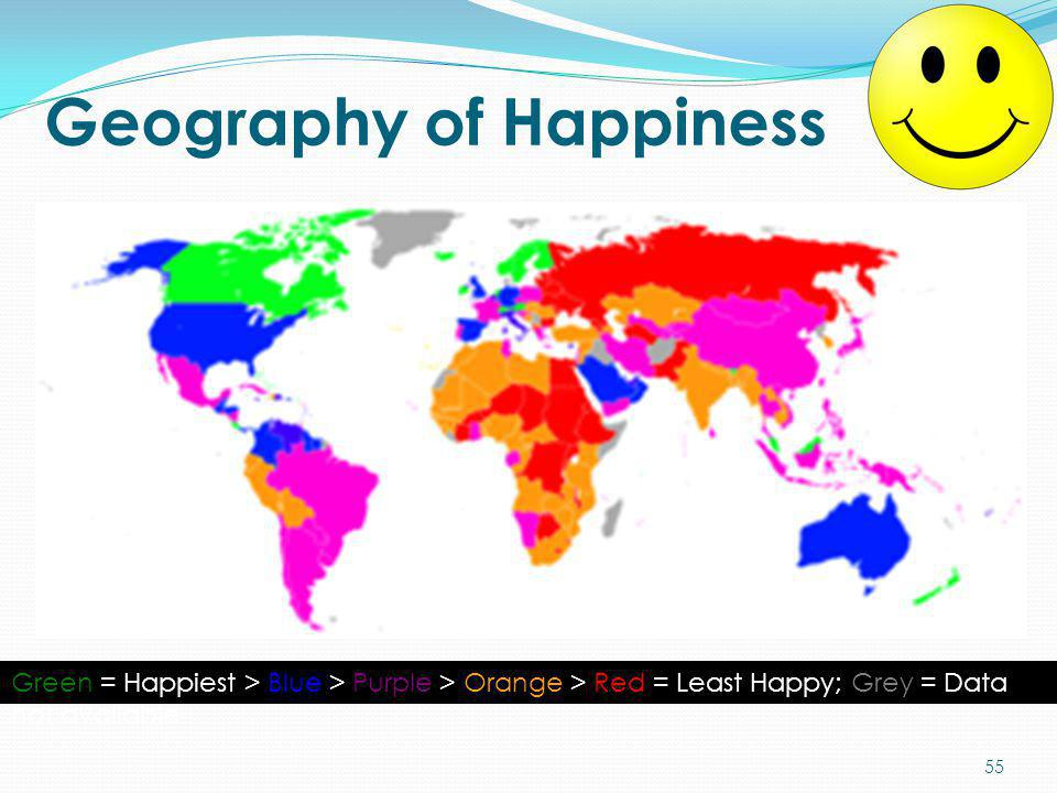 Geography of Happiness