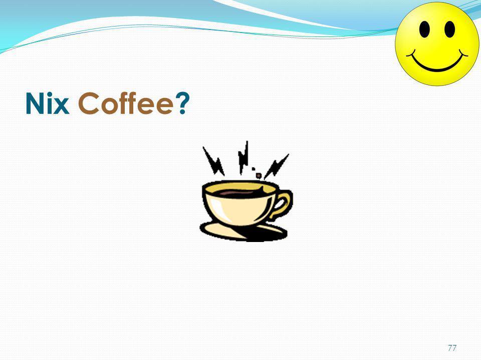 Nix Coffee