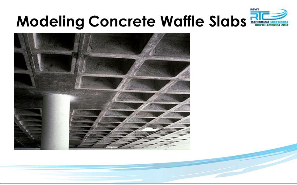 Modeling Concrete Waffle Slabs