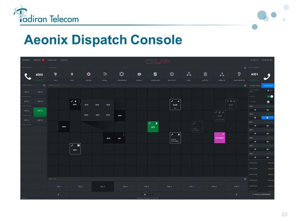 Aeonix Dispatch Console