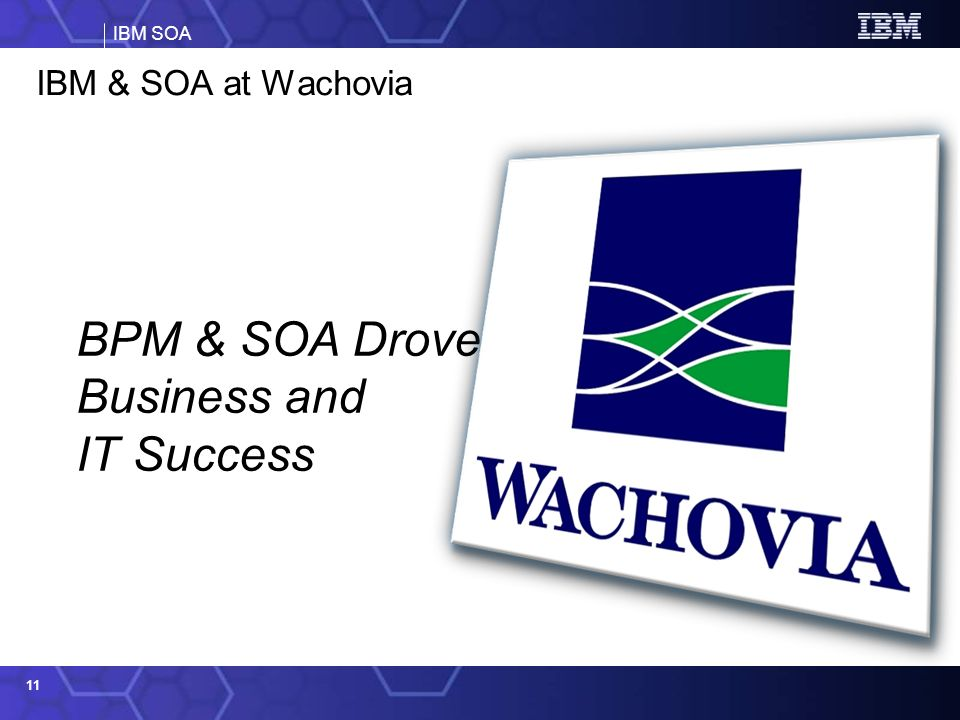 BPM & SOA Drove Business and IT Success