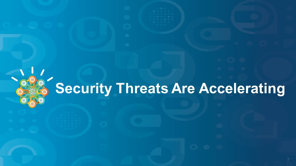 Security Threats Are Accelerating