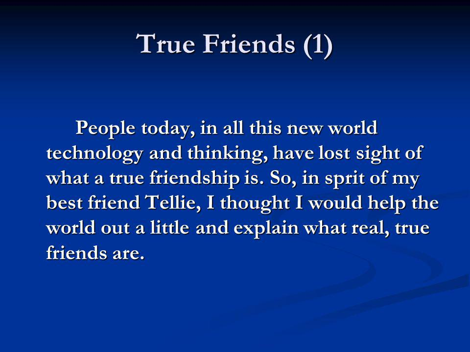 True Friends (1)