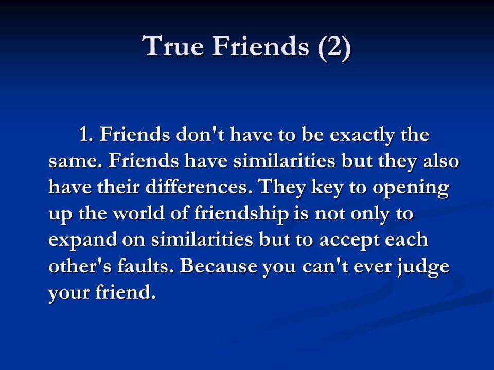 True Friends (2)