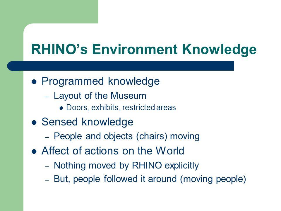 RHINO's Environment Knowledge