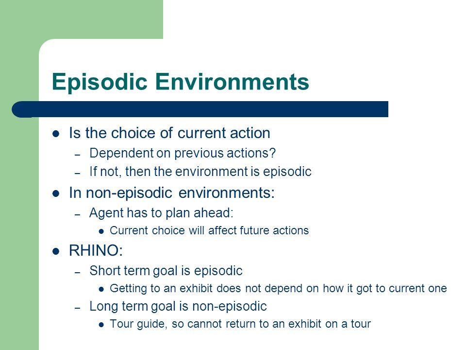 Episodic Environments