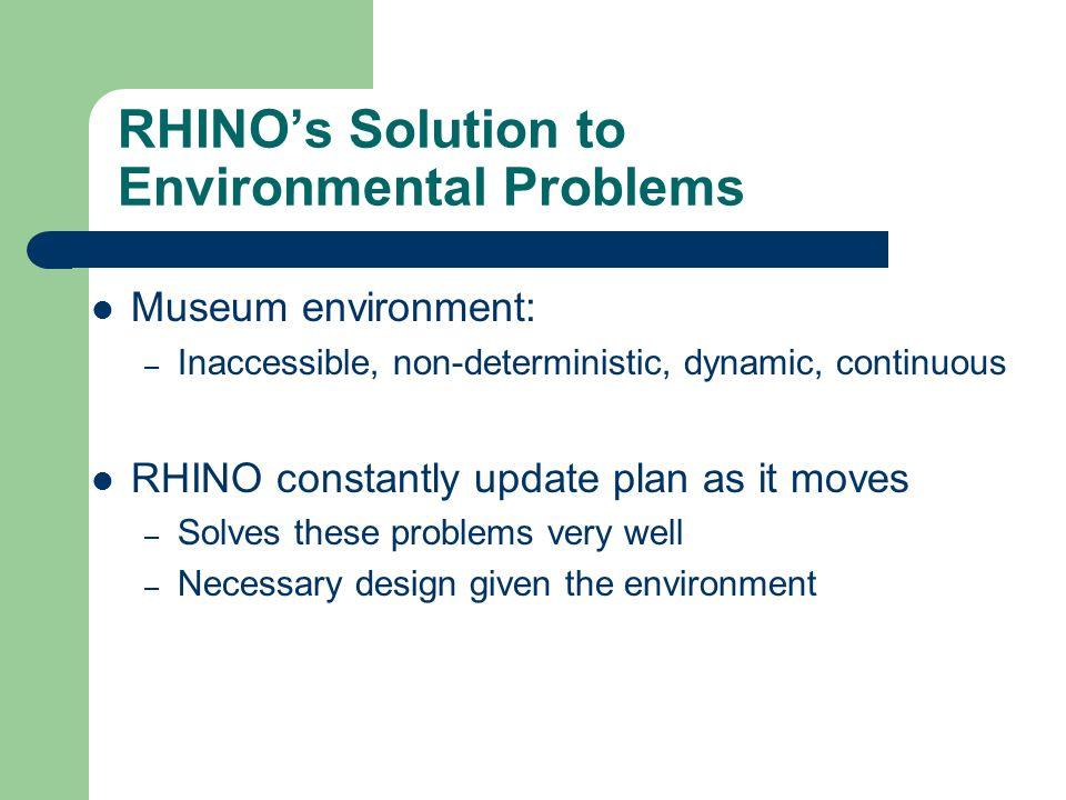 RHINO's Solution to Environmental Problems