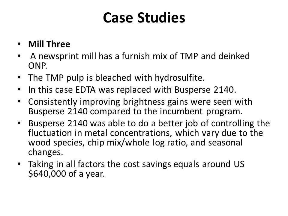 Case Studies Mill Three