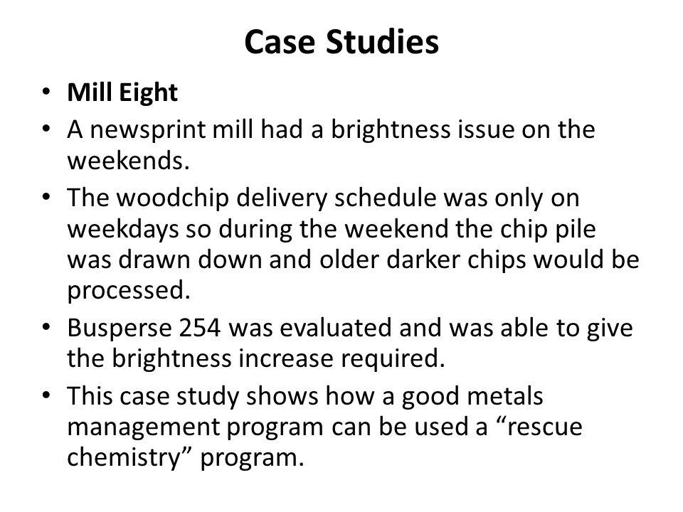 Case Studies Mill Eight