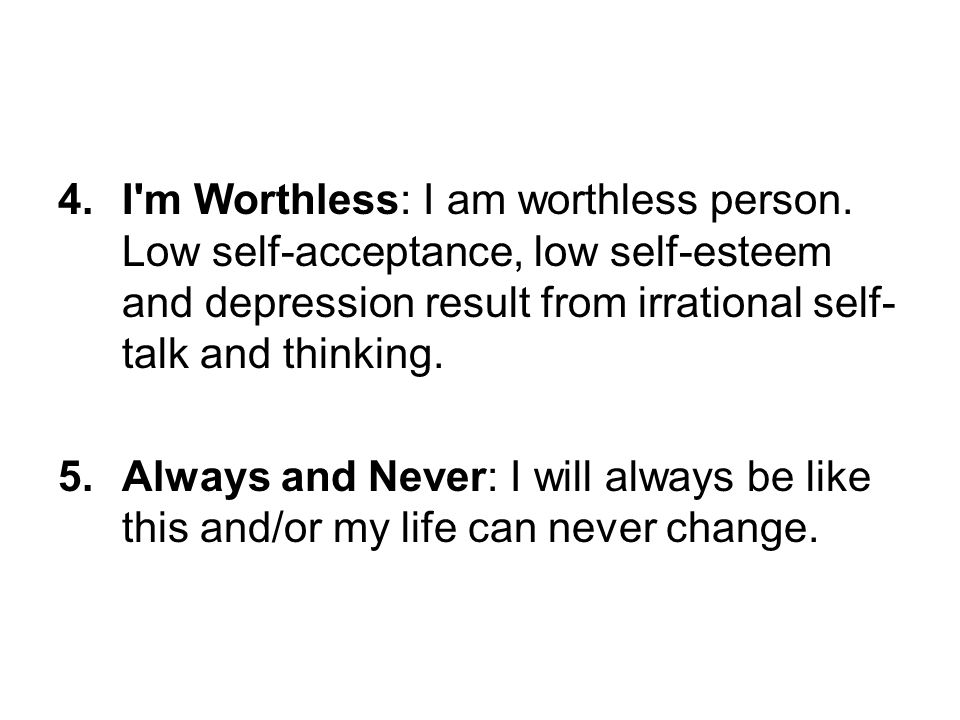 I m Worthless: I am worthless person