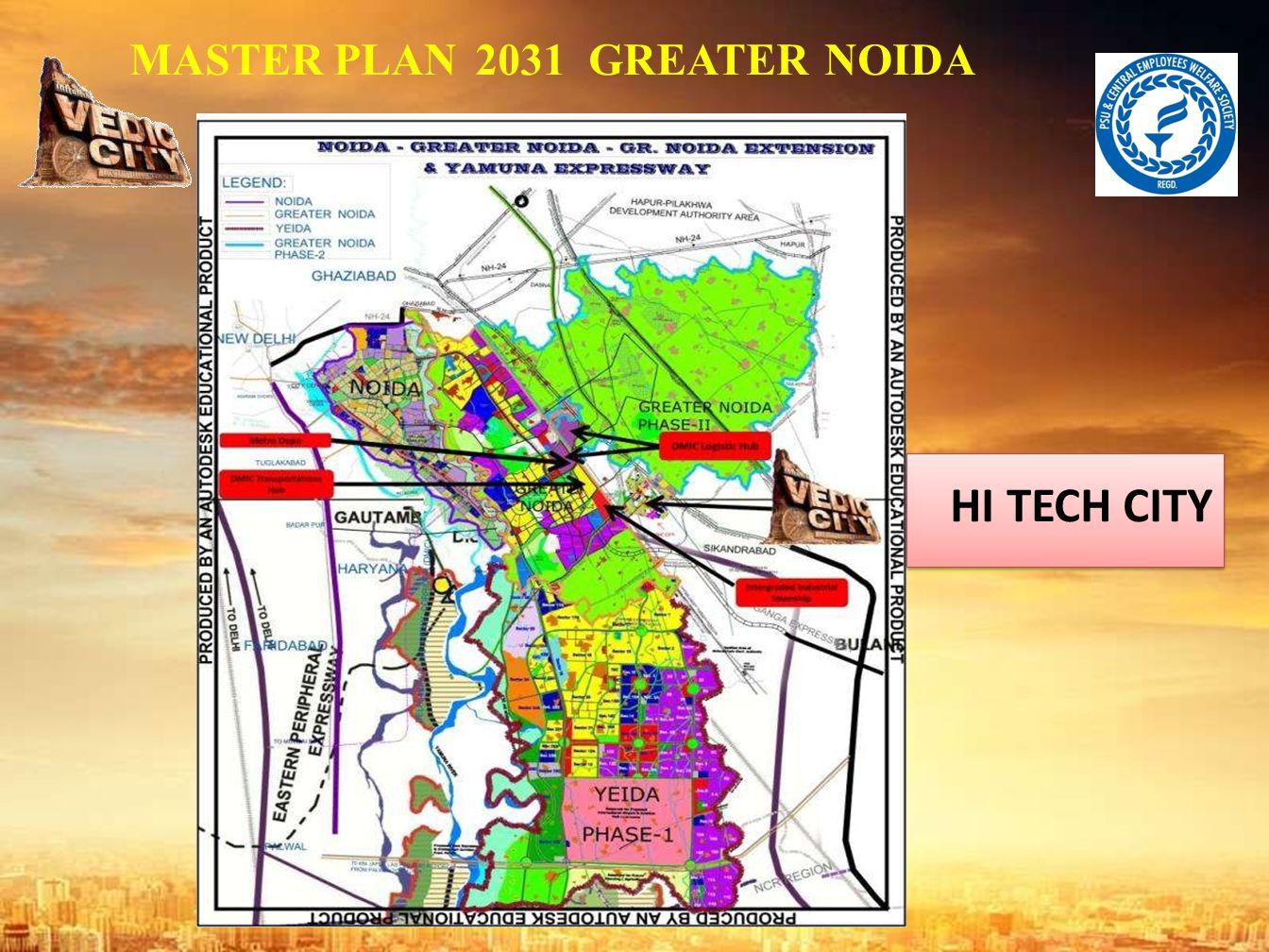 MASTER PLAN 2031 GREATER NOIDA