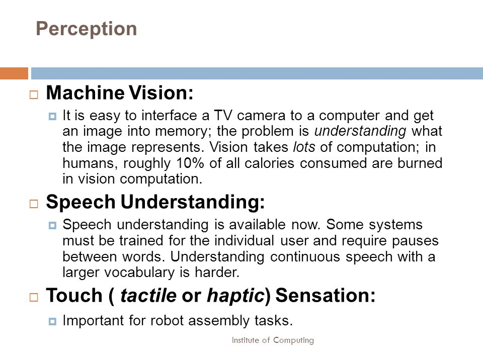 Speech Understanding:
