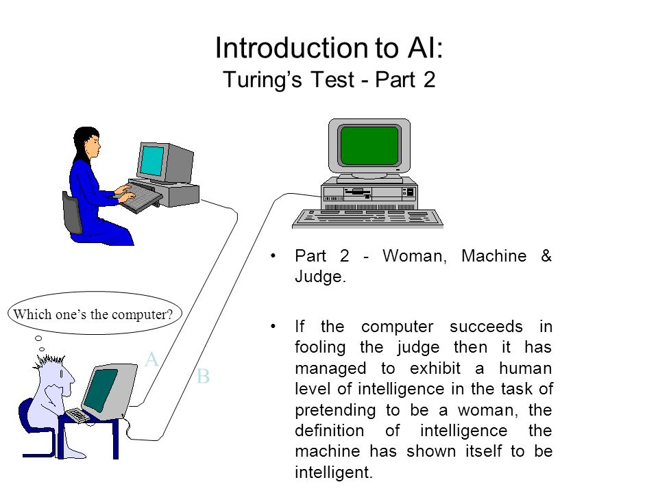 Introduction to AI: Turing's Test - Part 2