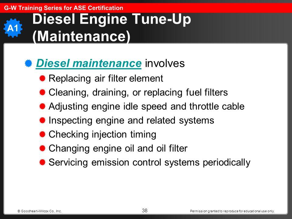 Diesel Engine Tune-Up (Maintenance)