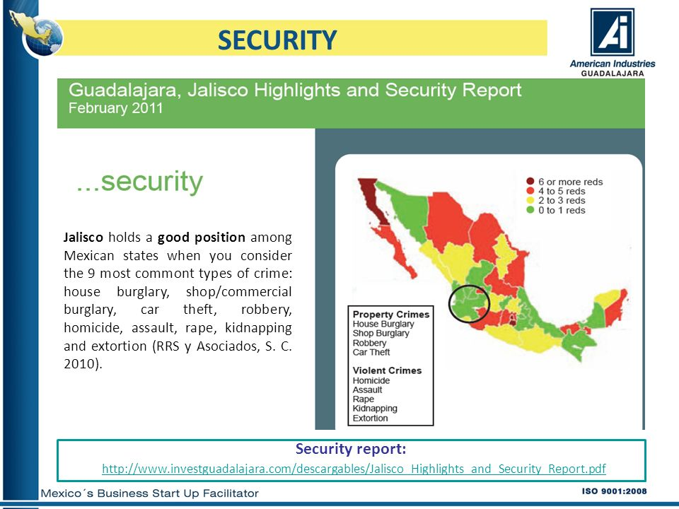 SECURITY Security report: