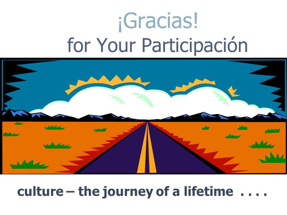 ¡Gracias! for Your Participación