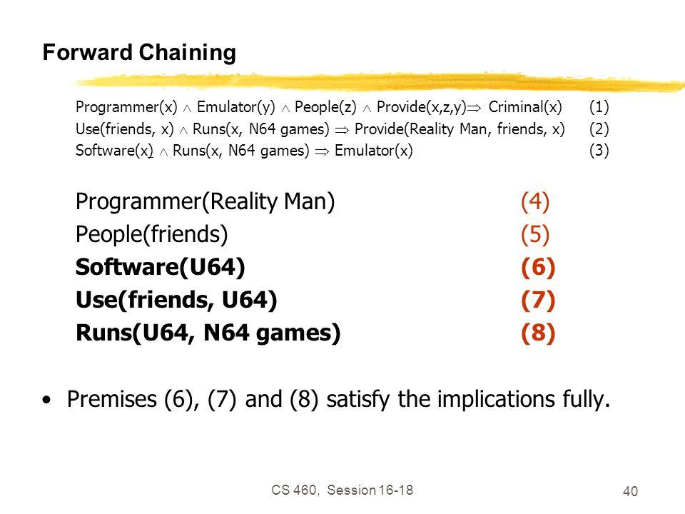 Programmer(Reality Man) (4) People(friends) (5) Software(U64) (6)
