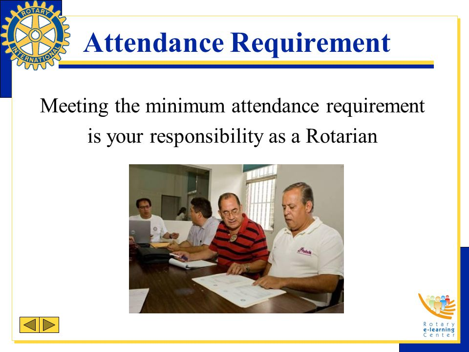 Attendance Requirement