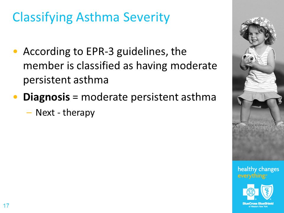 Classifying Asthma Severity