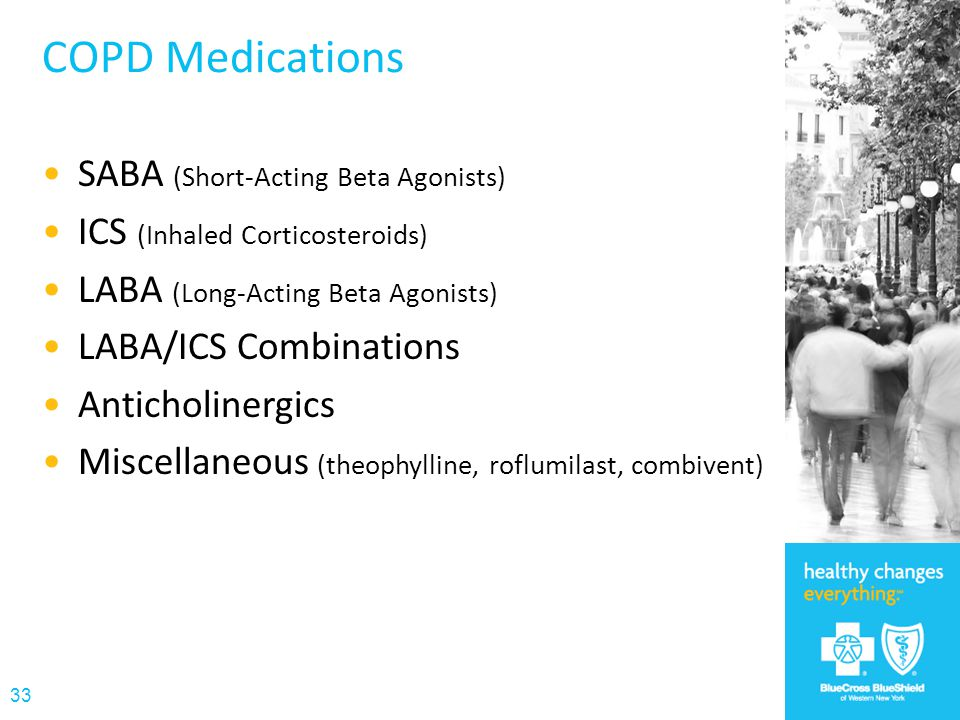 COPD Medications SABA (Short-Acting Beta Agonists)