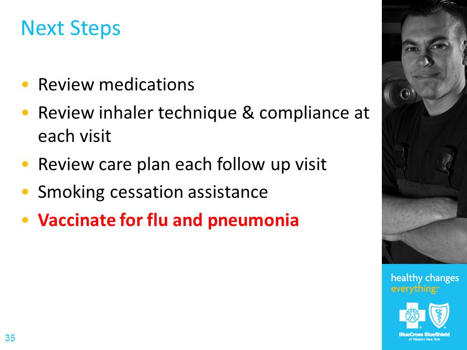 Next Steps Review medications