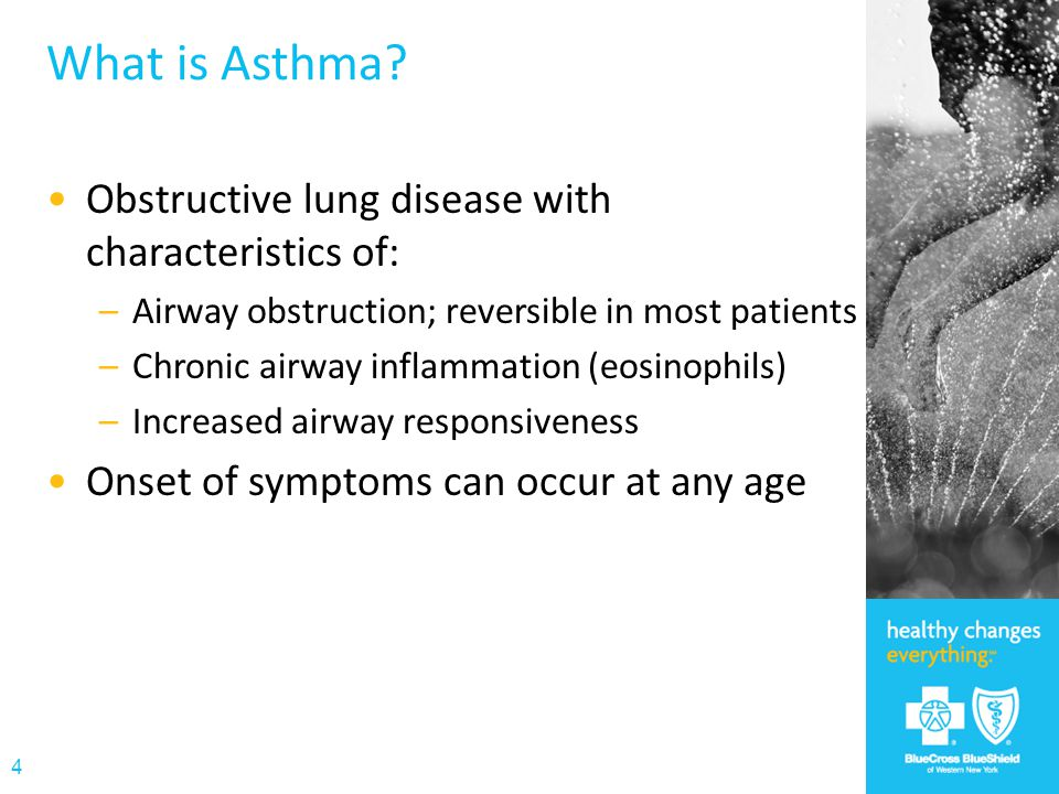 What is Asthma Obstructive lung disease with characteristics of: