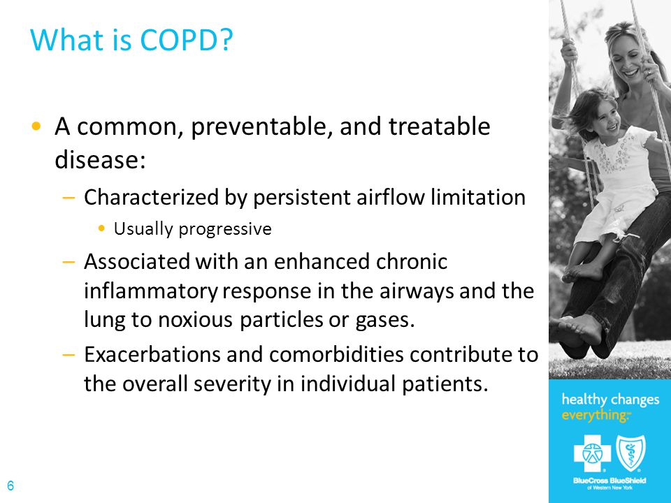 What is COPD A common, preventable, and treatable disease: