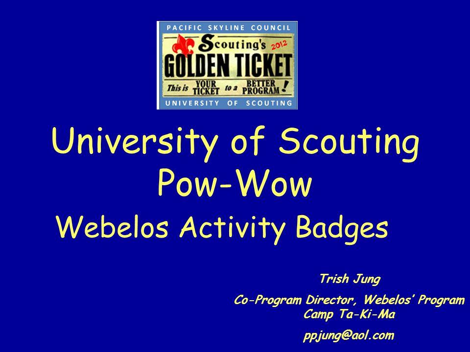 University of Scouting Pow-Wow