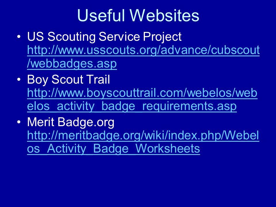 University of Scouting PowWow ppt video online download – Webelos Readyman Worksheet