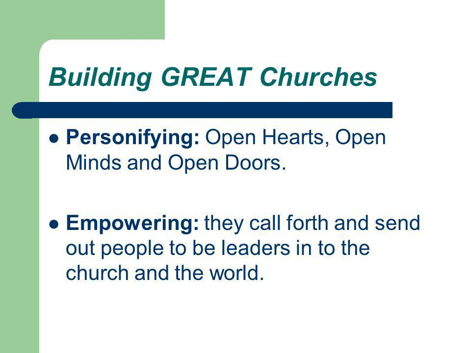 Building GREAT Churches