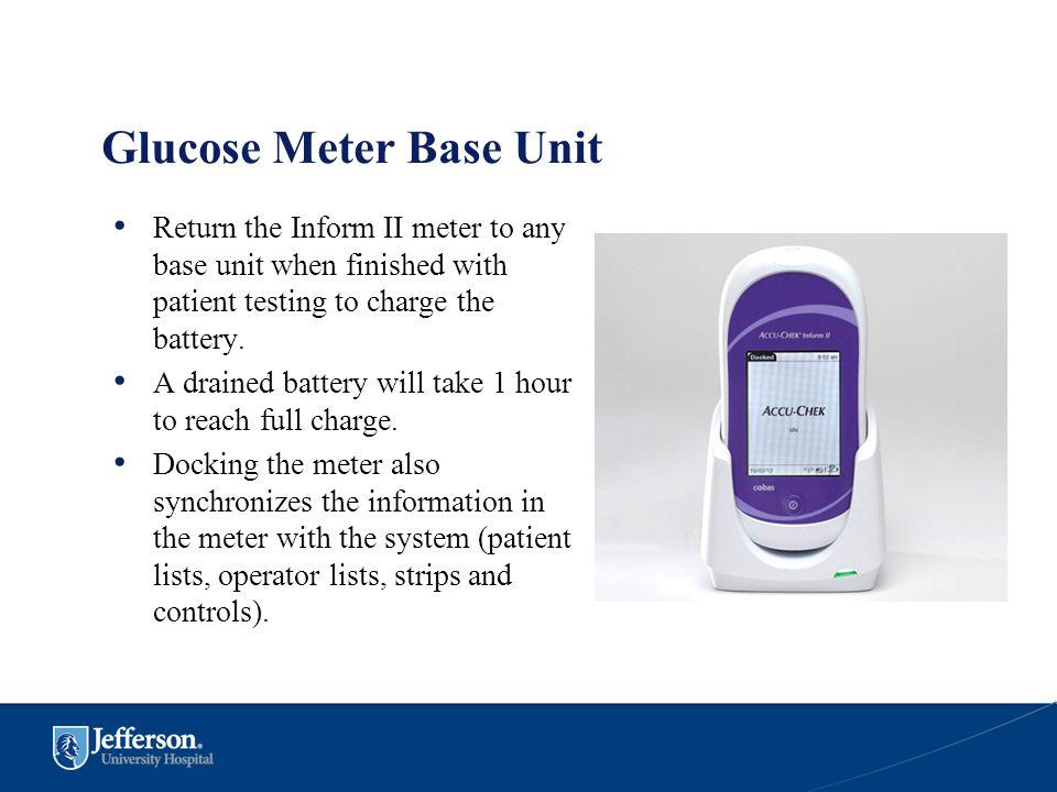 Glucose Meter Base Unit