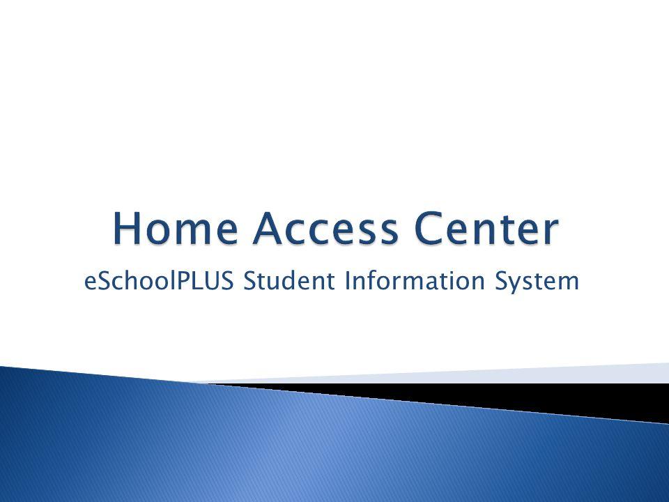 eSchoolPLUS Student Information System