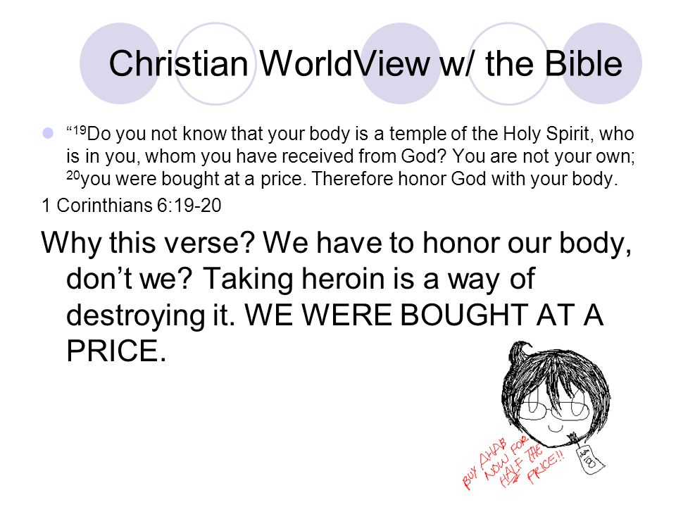 Christian WorldView w/ the Bible