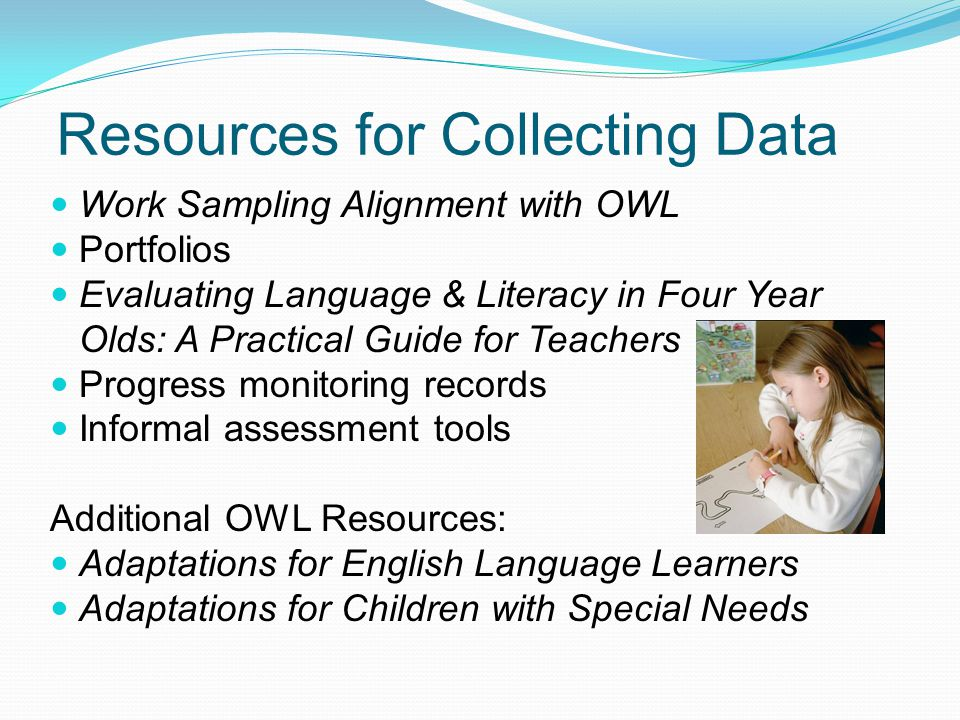 Resources for Collecting Data