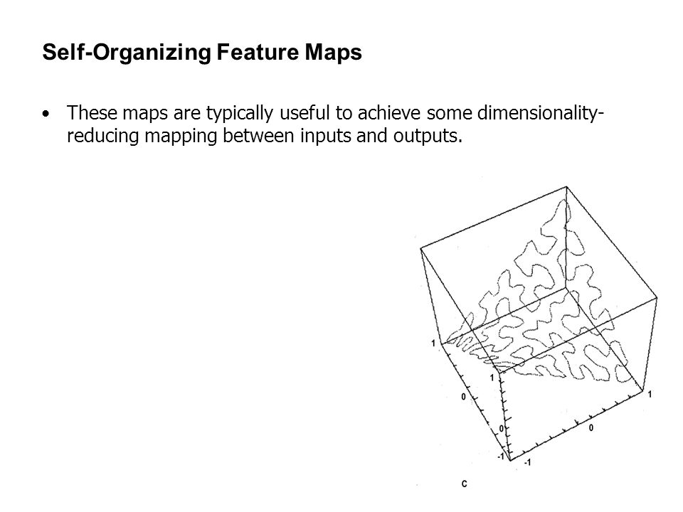Self-Organizing Feature Maps