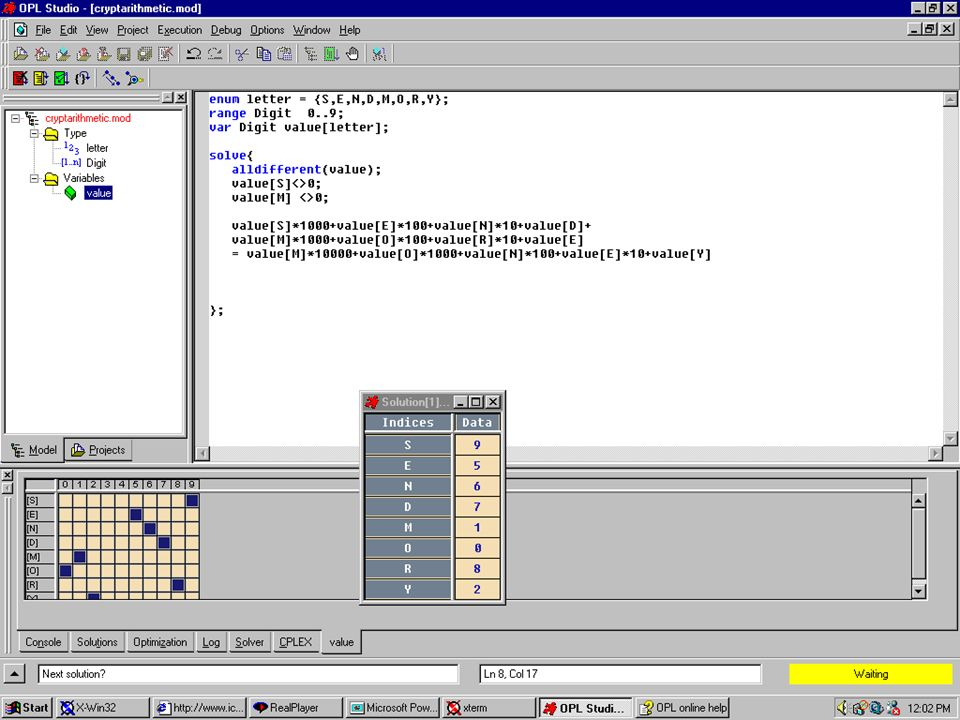 Coding Cryptarithmetic