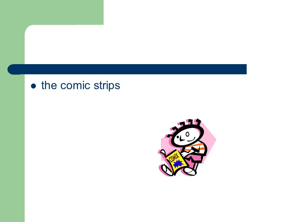 the comic strips