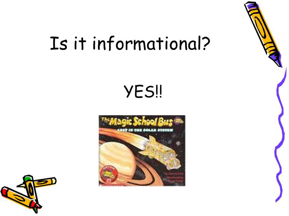 Is it informational YES!!