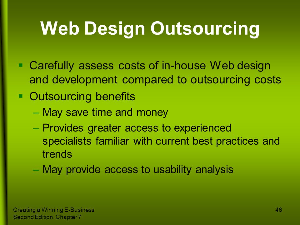 Web Design Outsourcing