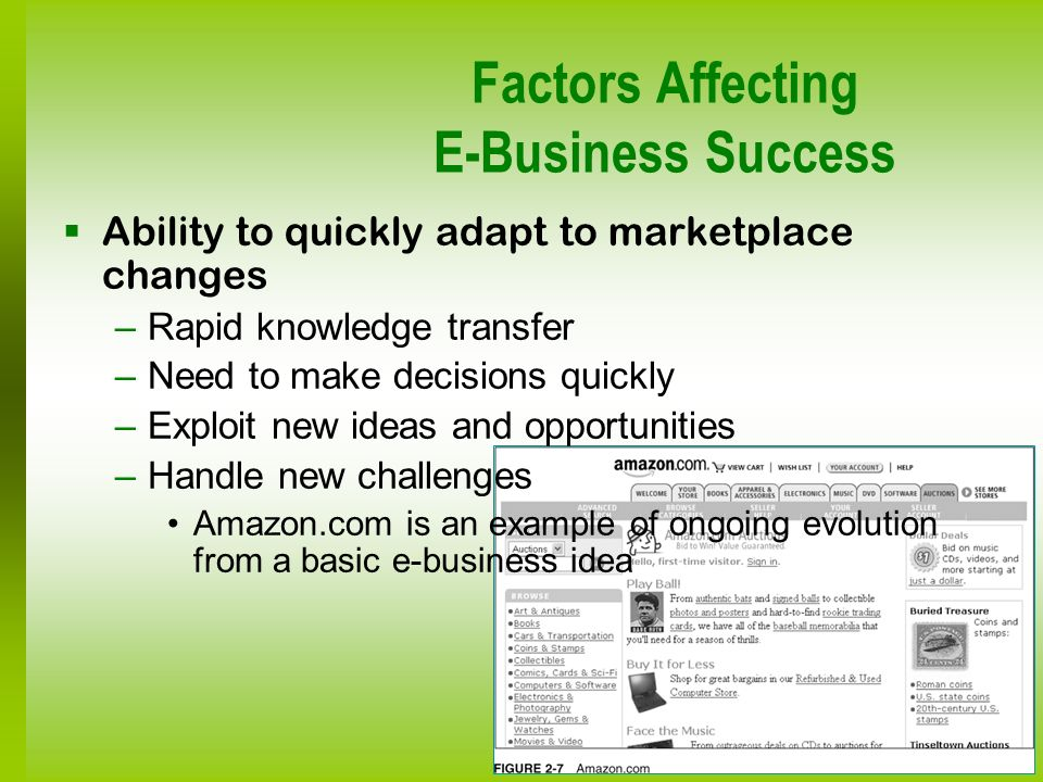 Factors Affecting E-Business Success