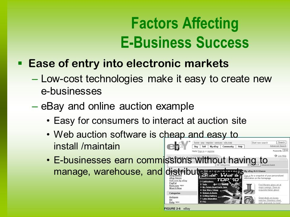 Factors Affecting E-Business Success