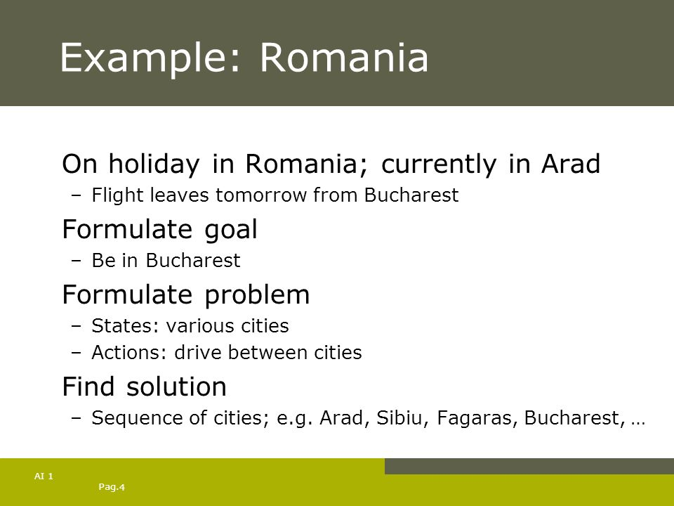 Example: Romania On holiday in Romania; currently in Arad